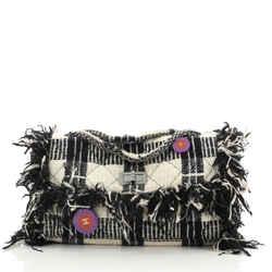 Reissue 2.55 Flap Bag Tweed with Pins Jumbo