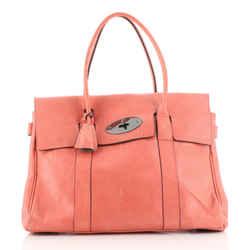 Bayswater Satchel Leather Medium