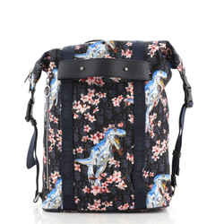 Safari Zip Backpack Limited Edition Sorayama Oblique Nylon Medium