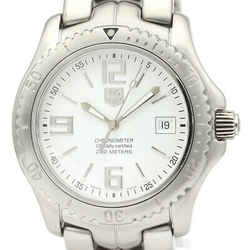 Polished TAG HEUER Link Chronometer 200M Steel Automatic Watch WT5111 BF515799