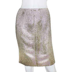 Ralph Lauren | Gold Beaded Skirt