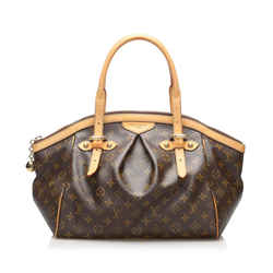 Vintage Authentic Louis Vuitton Brown Monogram Tivoli GM France