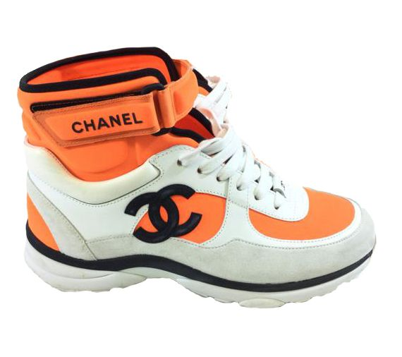 Chanel High Top Sneakers | LePrix