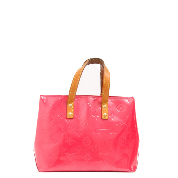 Reade Pm | Pink Monogram Vernis Leather