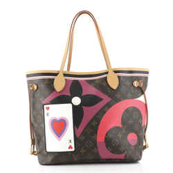 Neverfull NM Tote Limited Edition Game On Monogram MM