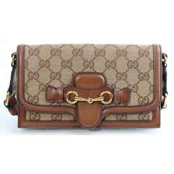 Gucci Monogram Lady Web Convertible Wallet