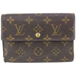 Louis Vuitton Monogram Papier Trifold Snap Wallet 91lvs727