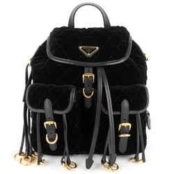 Impuntu Velluto Velvet Backpack Bag