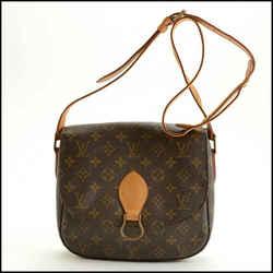 Rdc11477 Authentic Louis Vuitton Lv Monogram Saint Cloud Gm Crossbody Bag