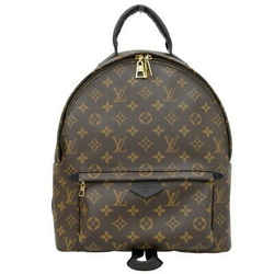 Auth Louis Vuitton Monogram Palm Spring Backpack Mm M41561 Leather Bag