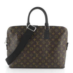 Porte-Documents Jour Bag Macassar Monogram Canvas