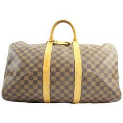 Louis Vuitton ( EXTREMELY RARE ) Nigo Centenaire Damier Ebene Keepall 50 107LVA129