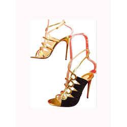 Christian Louboutin Tina Cage Open Toe Sandal Heels 13clz0925