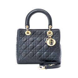 Pre-Owned Christian Dior Medium Lady Dior
