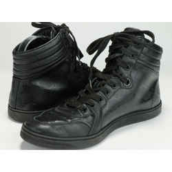 Gucci Black Military GG Imprime High-Top Sneakers