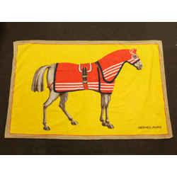 Hermes Horse Logo H Towel 226863