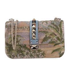 New Rockstud Sequin Shoulder Bag