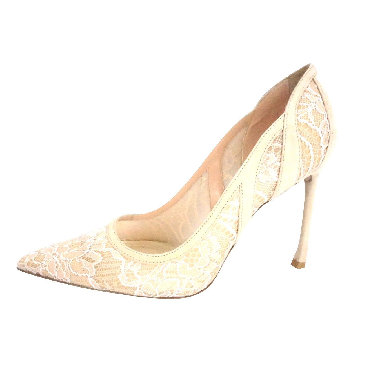 Christian Dior Lingerie Lace Pointed