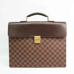 Louis Vuitton Damier Altona PM N53315 Men's Briefcase Ebene BF527241