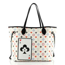 Neverfull NM Tote Limited Edition Game On Multicolor Monogram MM