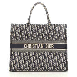 Christian Dior Book Tote Oblique Canvas