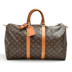Vintage Louis Vuitton Keepall 45 Monogram Canvas Duffle Travel Bag LT831