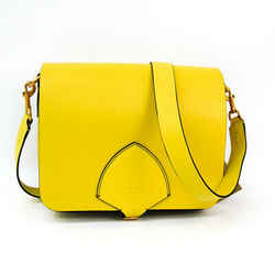 Burberry 4073124 Women's Leather Shoulder Bag Yellow Bf509033