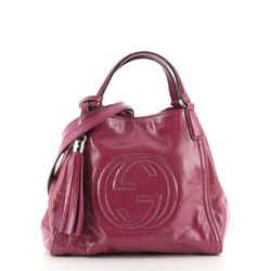 Soho Convertible Shoulder Bag Patent Small