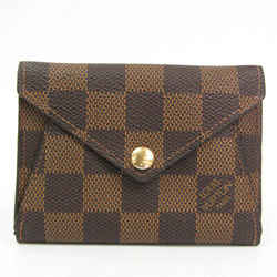 Louis Vuitton Damier Origami Compact Wallets N63099 Women's Damier Canv BF524594