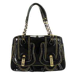 Fendi | Black Patent B Bag