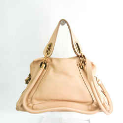 Chloe Paraty Women's Leather Handbag,Shoulder Bag Beige BF534970