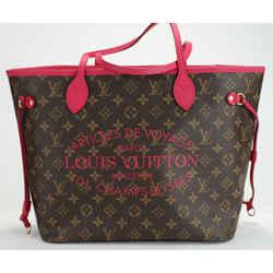 Louis Vuitton Limited Edition Fuchsia Monogram Ikat Neverfull MM Bag