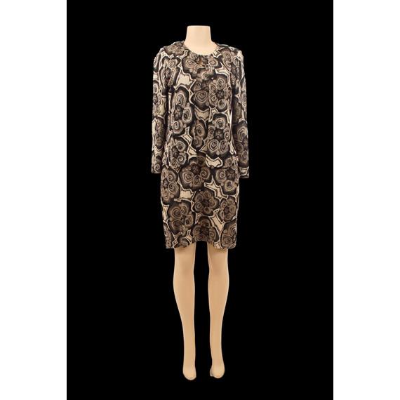 St. John Knit Abstract Dress Set