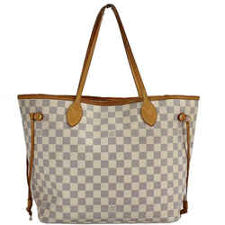 Louis Vuitton Neverfull Azur Damier MM Tote 860278
