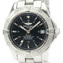 Polished BREITLING Colt Automatic Steel Automatic Mens Watch A17350 BF520289
