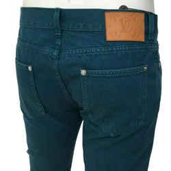 Monogram Patch Slim Jean