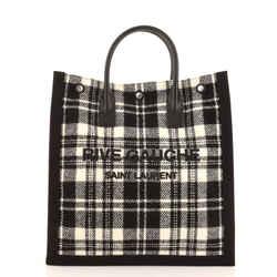 Rive Gauche Shopper Tote Printed Wool Tall