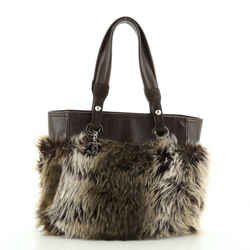 Biarritz Tote Faux Fur Small