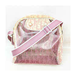 Christian Dior Clear Pink Monogram Trotter Messenger Bag 863453