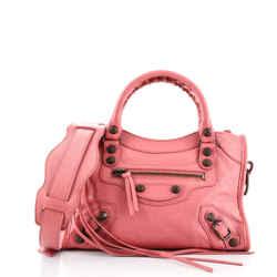 City Classic Studs Bag Leather Mini