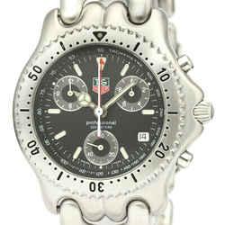 Polished TAG HEUER Sel Chronograph Leonald LTD Edition Watch CG1118 BF528600