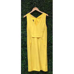 Valentino Size 10/12 Yellow Dress