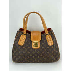 Louis Vuitton Griet GM Monogram Shoulder Handbag Authentic A610