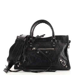 City Classic Studs Bag Leather Small