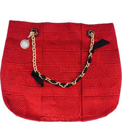 Lanvin Large Quilted Satin Tote New With Tags