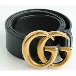 Gucci 2015 Re-Edition Wide Leather Belt