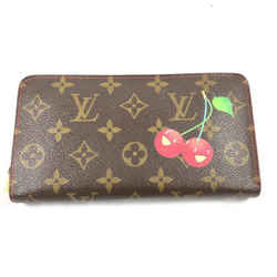 Louis Vuitton Murakami Cherry Zippy Wallet