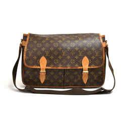 Louis Vuitton Sac Gibeciere GM Monogram Canvas Large Messenger Shoulder Bag LT821