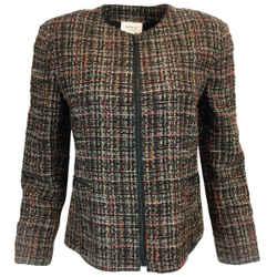 Akris Punto Woven Tweed Blazer