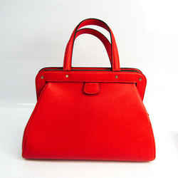 Valextra Women's Leather Handbag Red Color BF521764